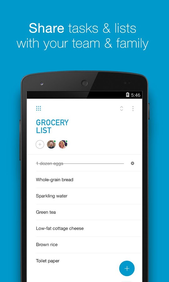 Any.do: To-do list, Task List- screenshot