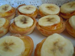Photo: tartelette bananes