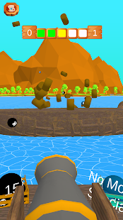 Pirate Knock Funny Balls Game Screenshot