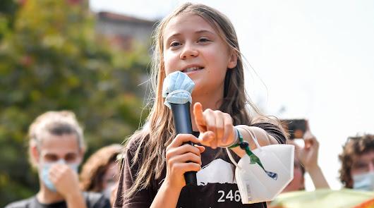 Greta Thunberg y  Bertolt Brecht