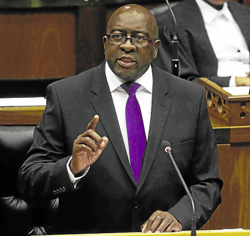 Cracking the whip: Finance Minister Nhlanhla Nene has told SARS employees that those who are unhappy should leave as the agency starts rebuilding its reputation. Picture: SUPPLIED