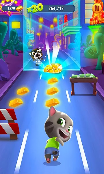Talking Tom Gold Run v1.6.0.46 [Mod]