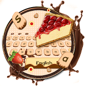 Yummy Cheese Cake keyboard Theme