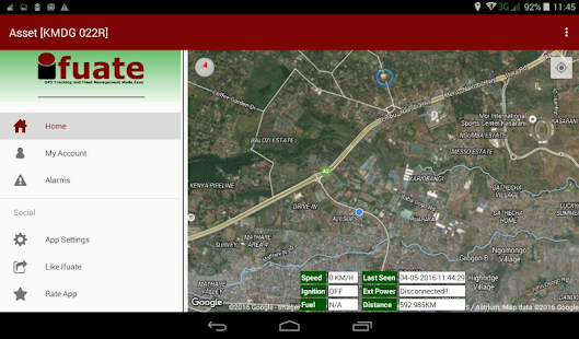 Ifuate GPS Tracking- screenshot thumbnail