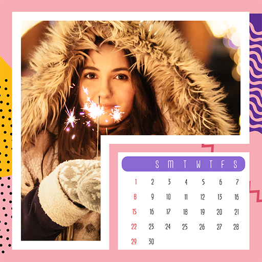 2018 Calendar Photo Frames