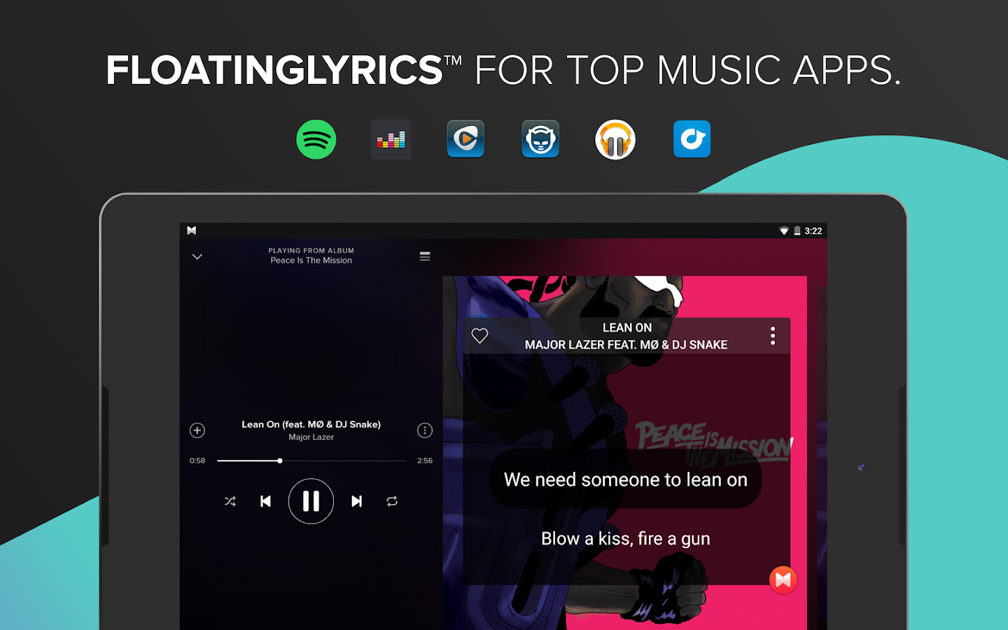 Musixmatch music & lyrics- screenshot