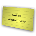 Vocabulary Trainer Flashcards icon