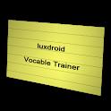 Vocabulary Trainer Flashcards icon