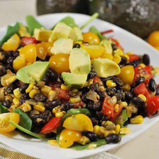 Healthy Mexican Rice Bowl.