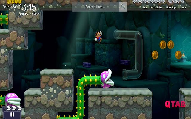 Mario Underground Theme Tab