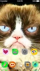 Grumpy Cat Theme C Launcher screenshot 2