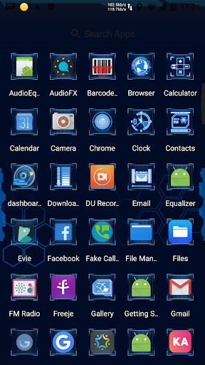 Download J A R V I S Launcher - Hologram Futuristic Theme on