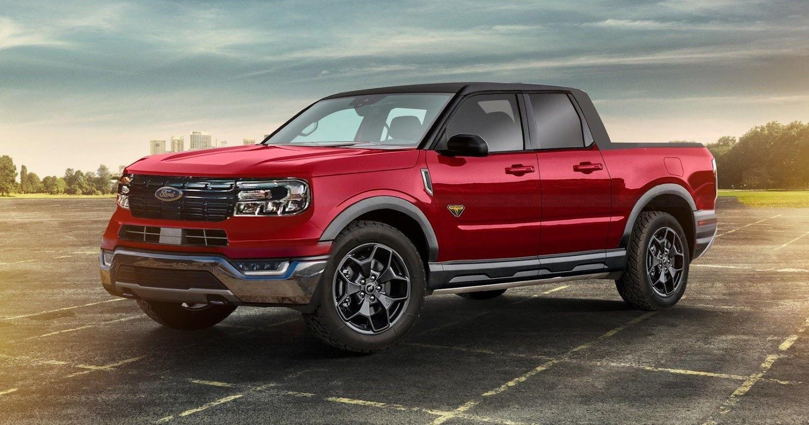 2022 Ford Maverick Rendering Imagines A Stunning Design ...
