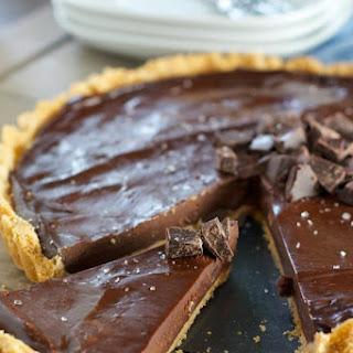 Easy Dark Chocolate Ganache Tart Recipe
