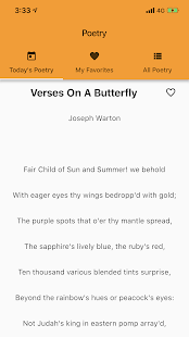 Rhyming Modern Poems Reader - Read Famous Poetry for PC-Windows 7,8,10 and Mac apk screenshot 1