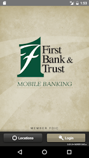 FB&T Mobile Banking- screenshot thumbnail