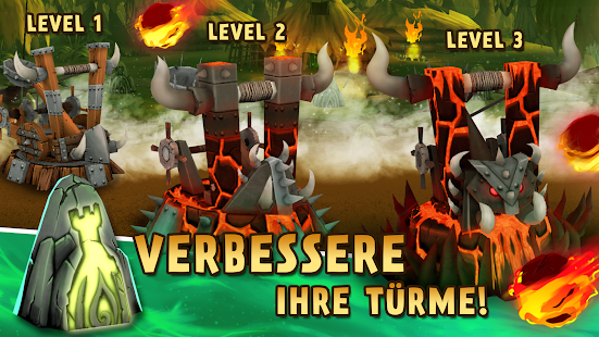 Skull Towers: Castle Defense Offline Spiele Screenshot