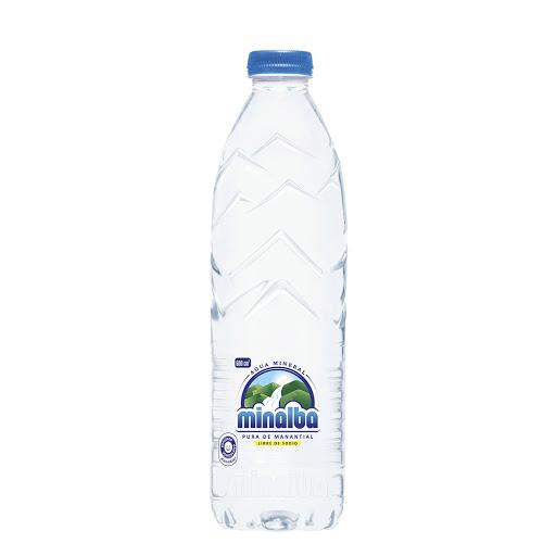 agua minalba tapa rosca 600ml