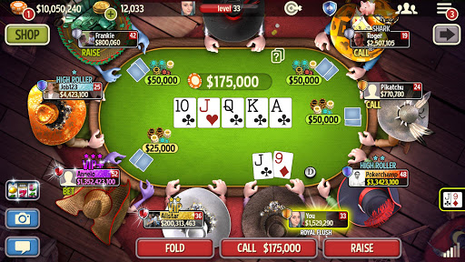Governor of Poker 3 - Texas Holdem With Friends screenshots 2