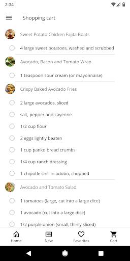 Healthy Recipes 5.45 screenshots 5