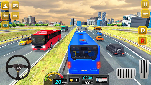 Modern City Bus Drive Parking Games-WG Bus Game 1.18 screenshots 4