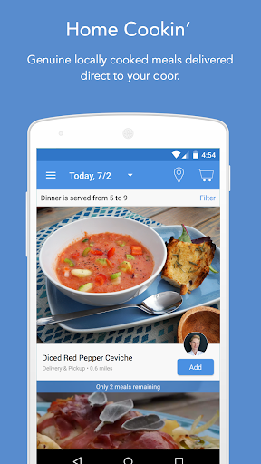 mytable: locally cooked meals