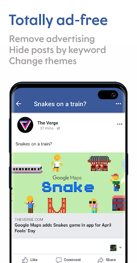 Maki: Facebook and Messenger in one awesome app 3.7 Sakura screenshots 2