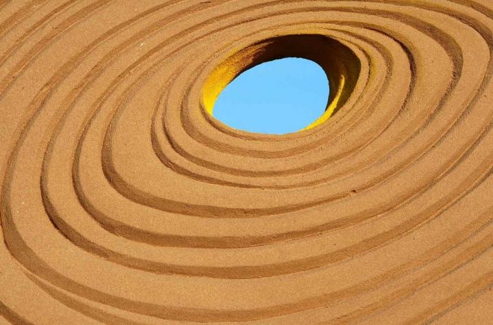FRISBEE...di sabbia di ziaGrariama