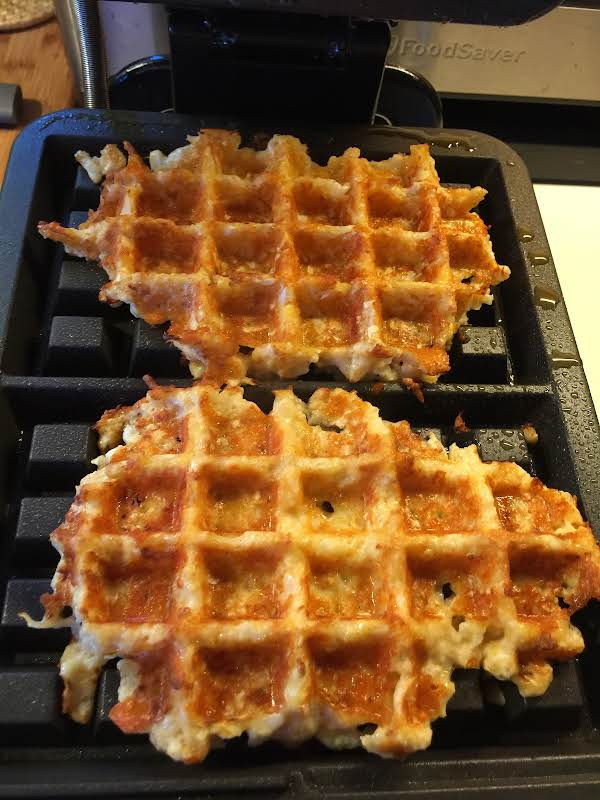 Cauliflower Waffles Recipe