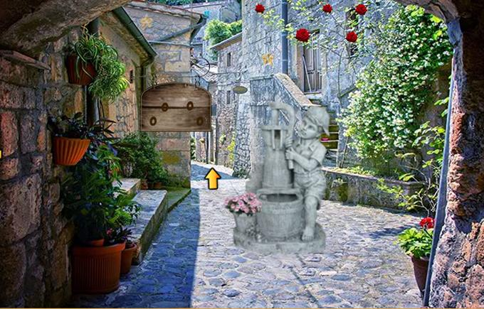 Escape Game- Italian Hill Town- screenshot
