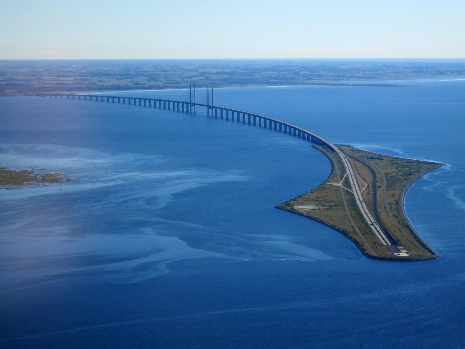 El puente de Oresund es una de las fronteras más fascinantes del mundo. Se sitúa entre Dinamarca y Suecia