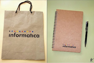 Photo: Paper Bag, Spiral Notebook & Pen Set (Customized)