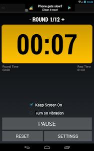 Boxing Interval Timer FREE screenshot 11