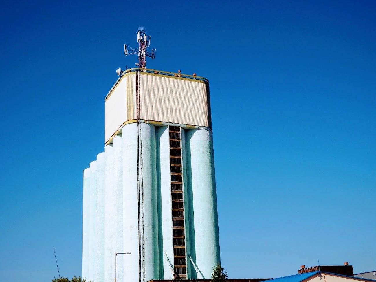 Gyöngyös/gabonatároló - helyi URH-FM adóállomás