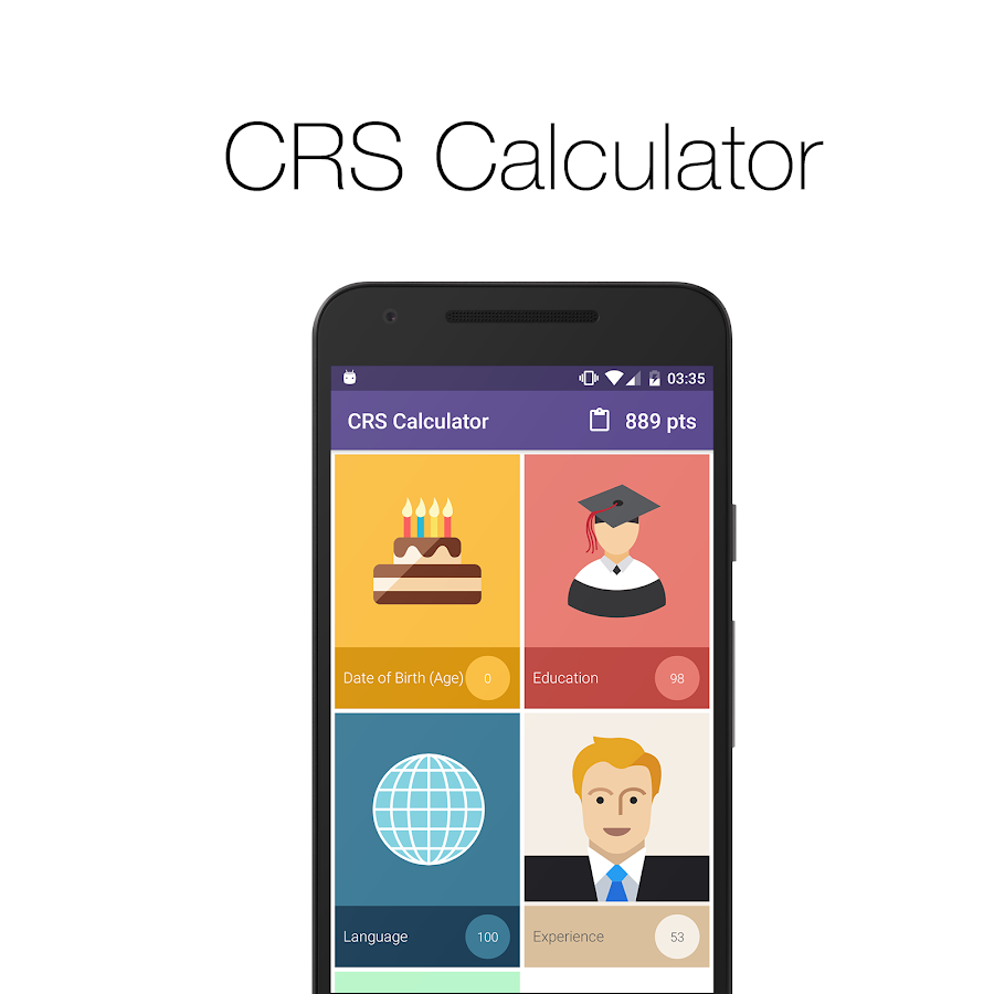 CRS Calculator- screenshot