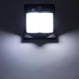 Lampa solara 80 LED, senzor miscare, 500 LM