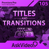 Titles Course For Premiere Pro