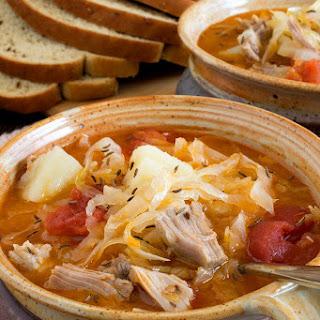 Kapusta (Polish Cabbage Soup).