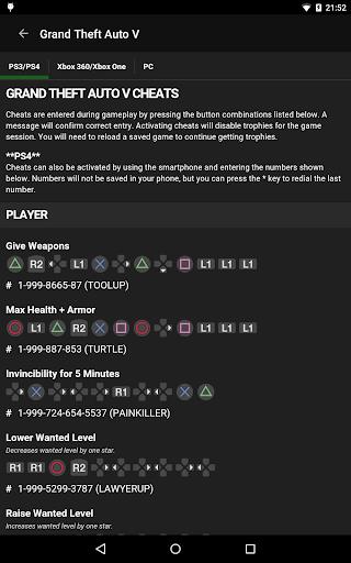 Cheats for GTA  screenshots 8