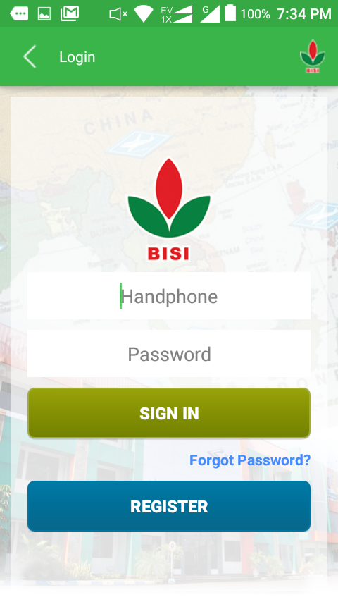 BISI- screenshot