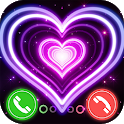 Heart Call Color Phone Screen - Color Phone Flash icon