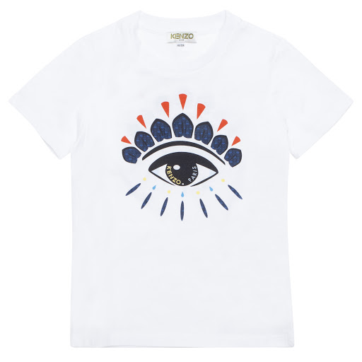 Primary image of Kenzo Kids Cotton Flavio T-shirt