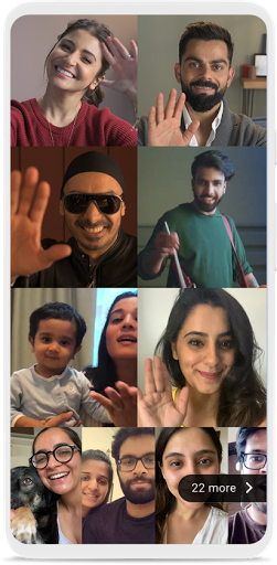 Group video calls on Duo