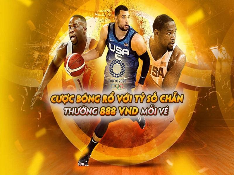 Cược bóng rổ tại FB88 nhận thưởng bất ngờ
