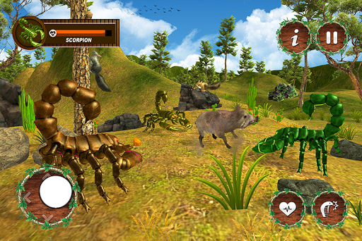 Wild Scorpion Family Jungle Simulator screenshots 1