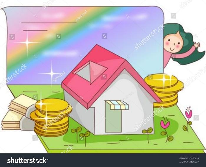 Animation Sketch Cute Little Girl Raised Stock Vector (Royalty Free)  17860858