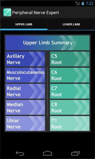 Peripheral Nerve Expert screenshot for Android