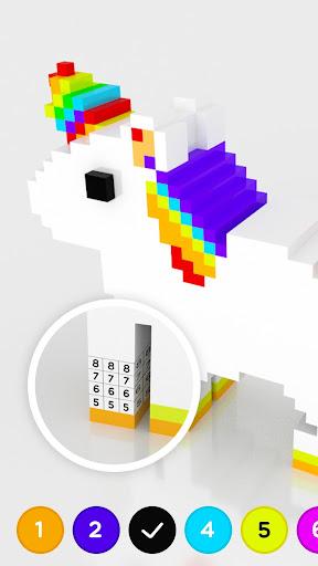 Number Coloring – 3D No.Draw screenshots 2