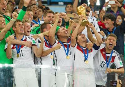 Geniet nog eens na van de WK-finale in enkele prachtige beelden