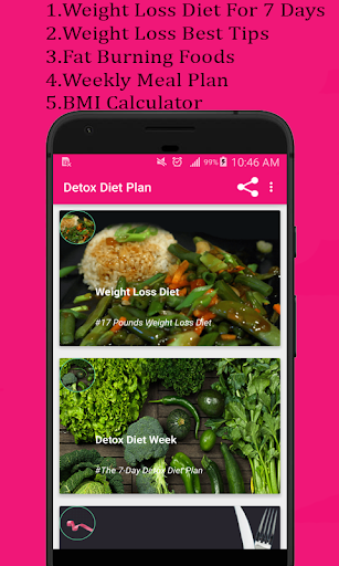 Download Detox diet plan:Lose fat fast in 7 days on PC & Mac